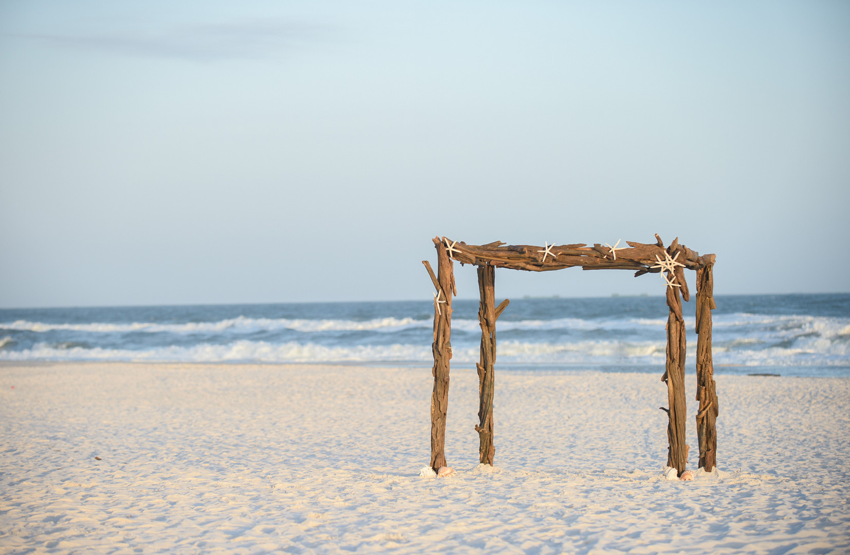 Driftwood Wedding Arbour