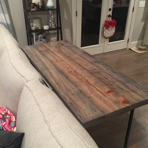 Gas Pipe Sofa Table
