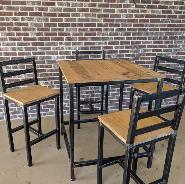 High Top Table & Chairs