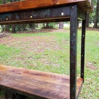 Rustic Refurbished Cart