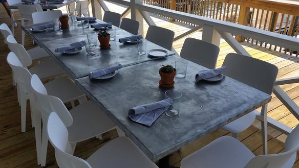 Metal Top Tables