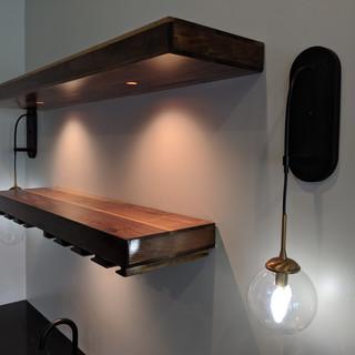 Walnut Shelf