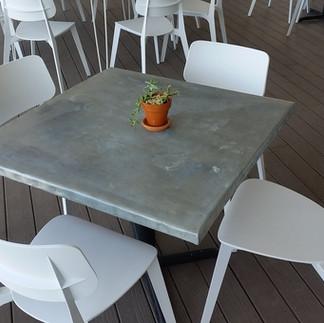 Zinc Tabletops
