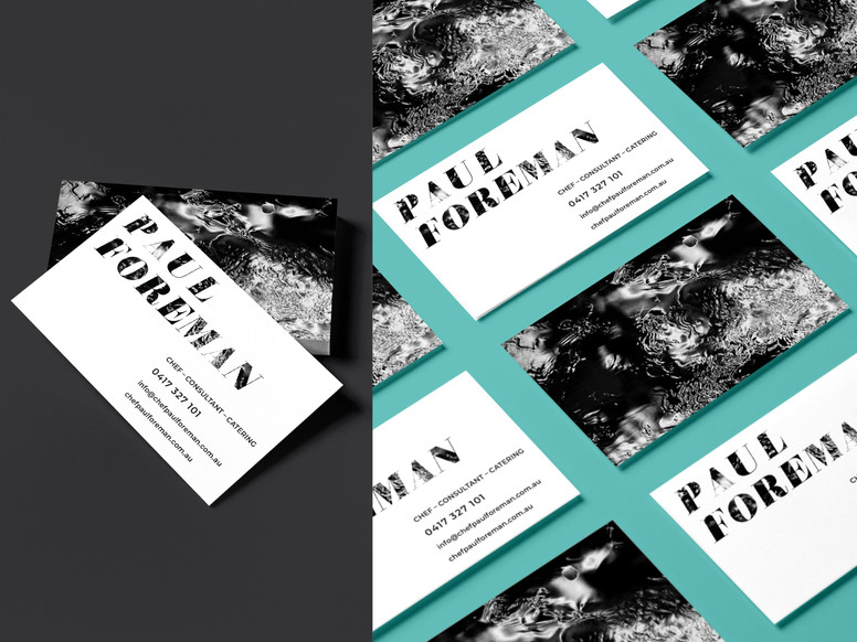 Paul Foreman Chef brand assets