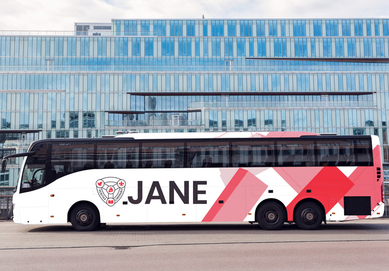 Branding assets for Jane Franklin Hall