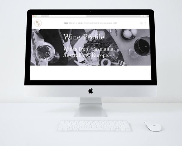 Wine Profile Tasmania website