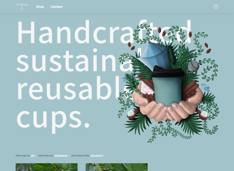 Earthling Cup website