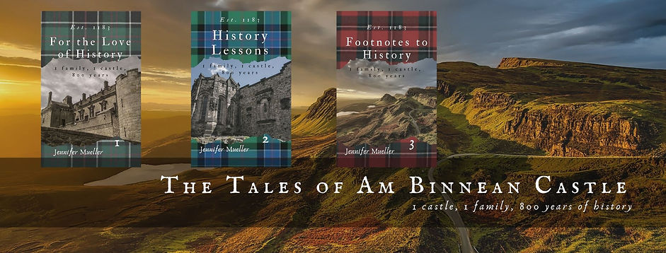 covers of books one, two and and three in The Tales of Am Binnean