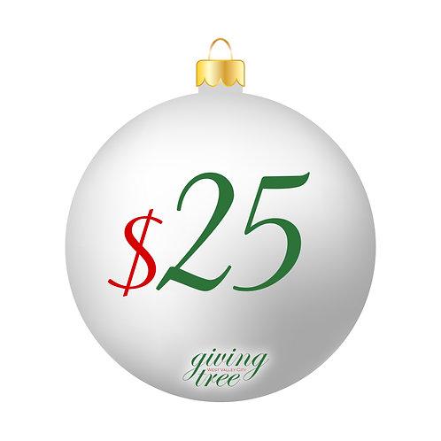 $25 Giving Tree Donation