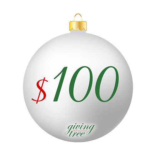 $100 Giving Tree Donation