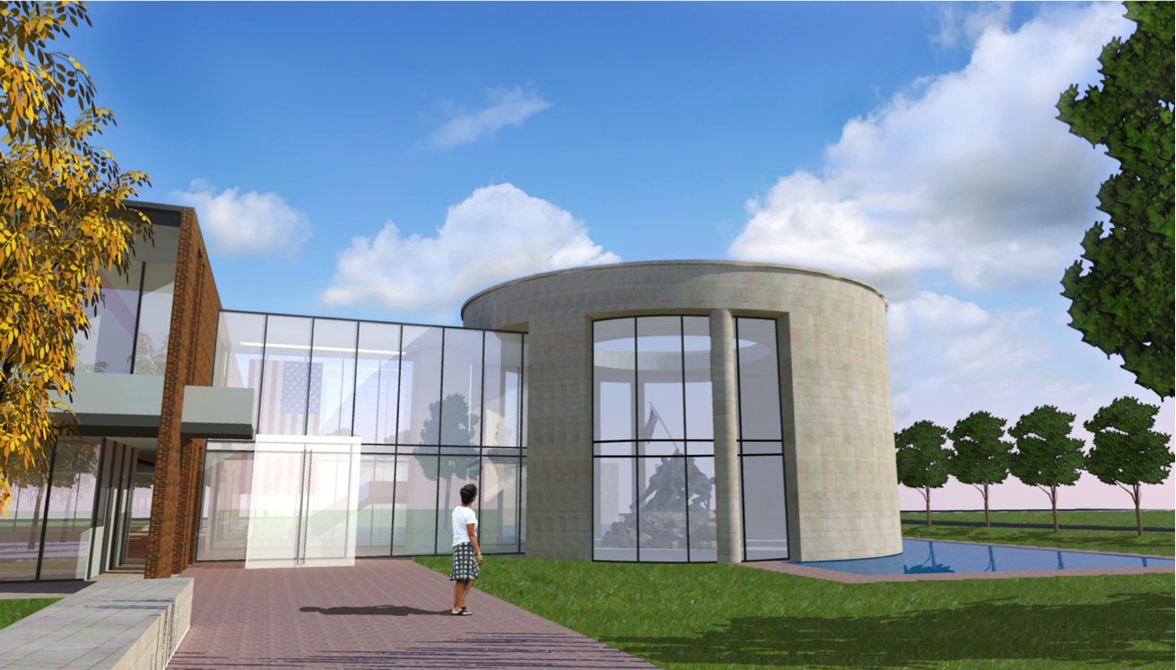 Veteran's Hall REndering 3