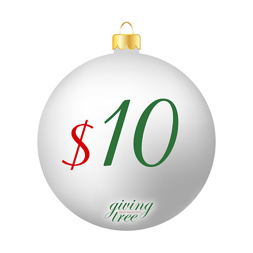 $10 Giving Tree Donation