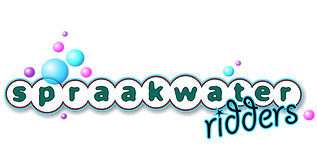 Spraakwater ridders logo gevuld zonder o