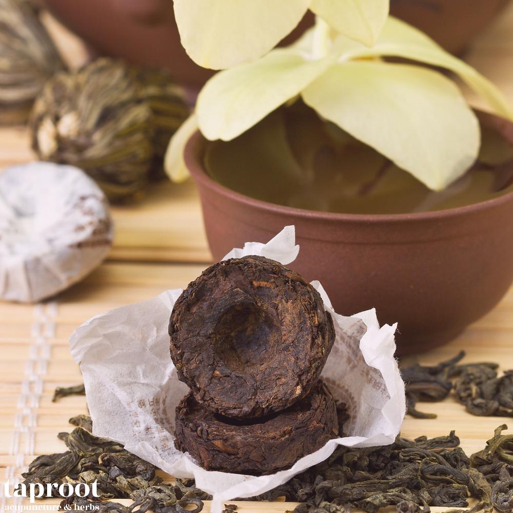 Pu'er tea for winter