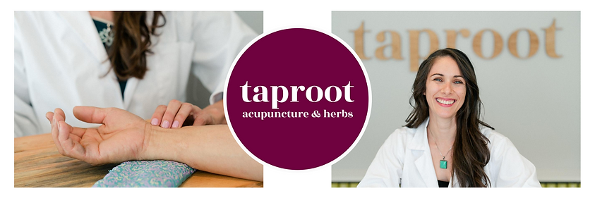 Doctor Sarah welcomes you to taproot acupuncture & herbs