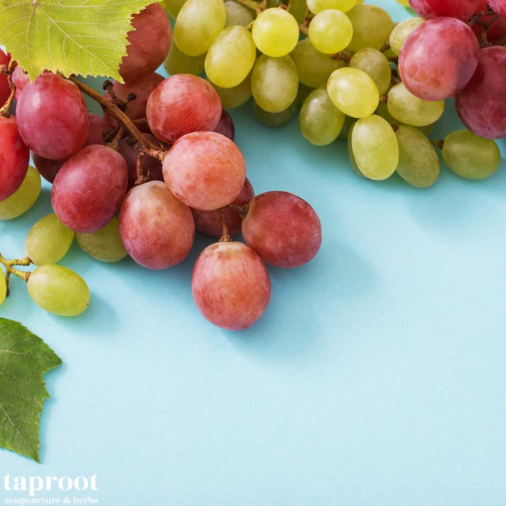 grapes for resveratrol
