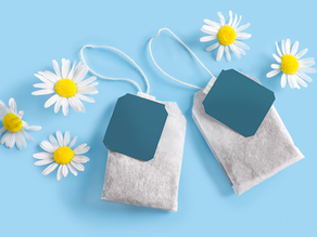 At home eye care: using herbal tea bags compresses for the eyes