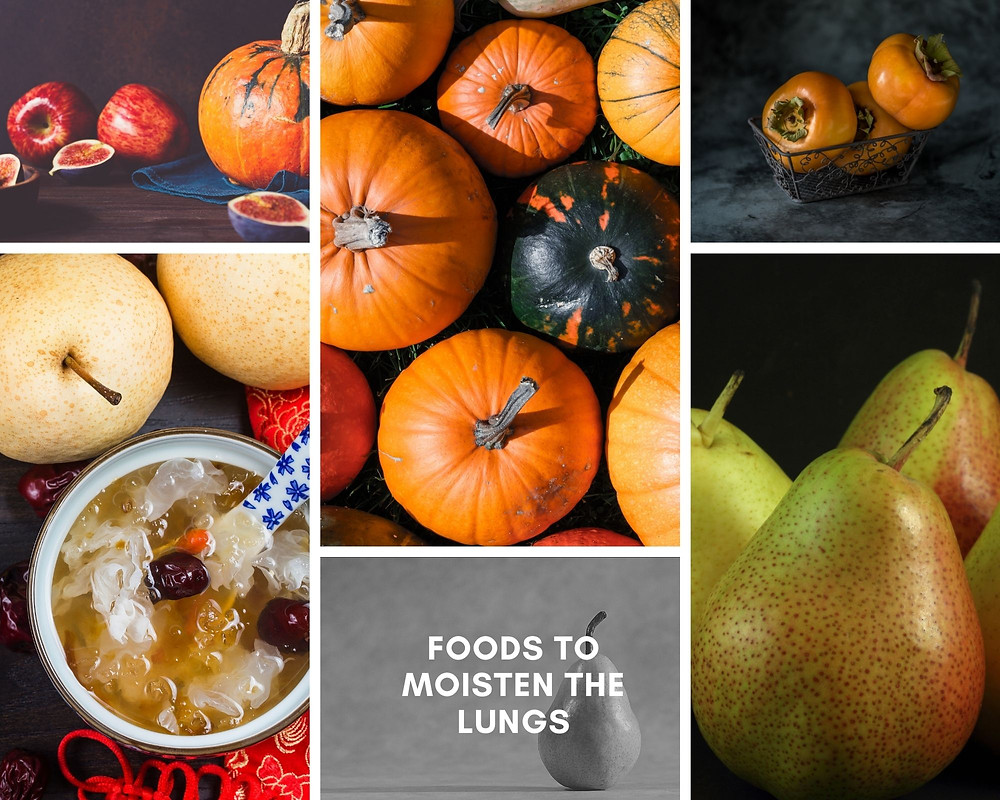 pumpkins and pears