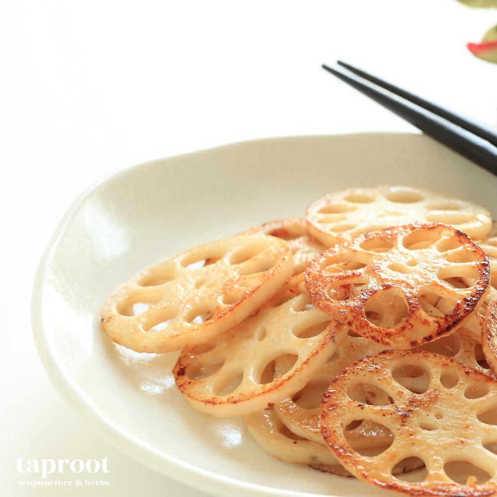 stir fried lotus