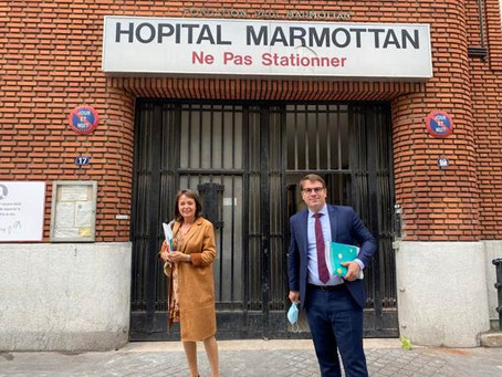 Visite du site Marmottan