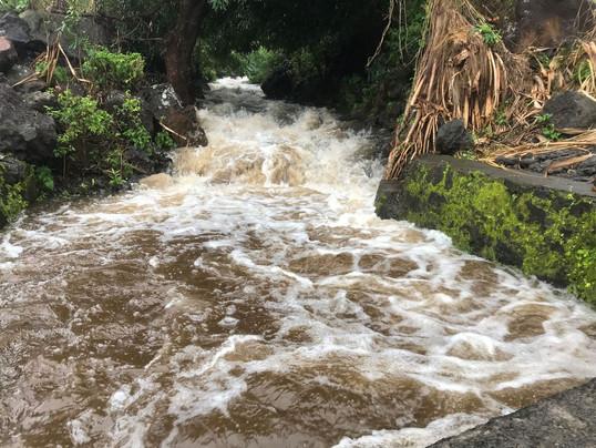 Des dégâts importants suite aux inondations