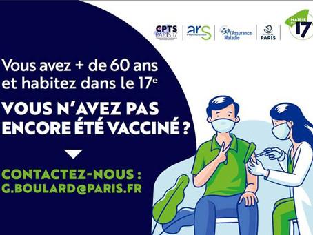Vaccination Mairie 17ème