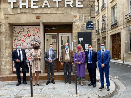 Rencontre au théâtre des Blancs Manteaux