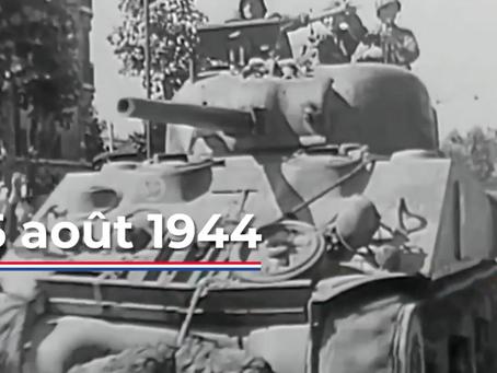 25 août 1944 : libération de Paris