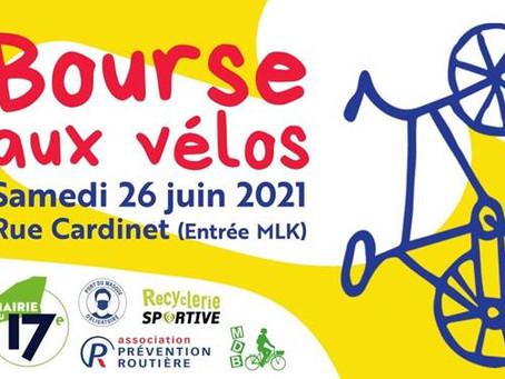 Bourse aux vélos le samedi 26 juin