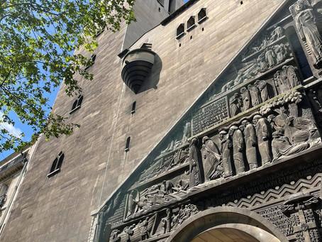 Travaux en vue pour l'Eglise Saint-Pierre de Chaillot