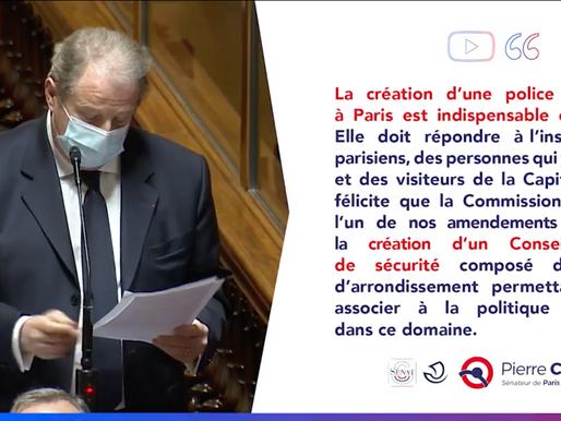 Création d'une police municipale à Paris : indispensable et urgente
