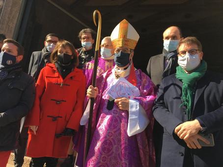 Messe à l'église Sainte-Odile