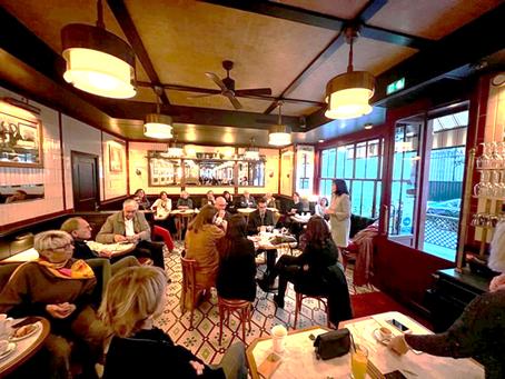 Encore de beaux moments d'échanges au Café de la Députée
