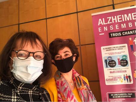 Rencontre avec la Présidente de la Fondation Médéric Alzheimer
