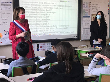« Parlement des Enfants » à l'école Longchamp