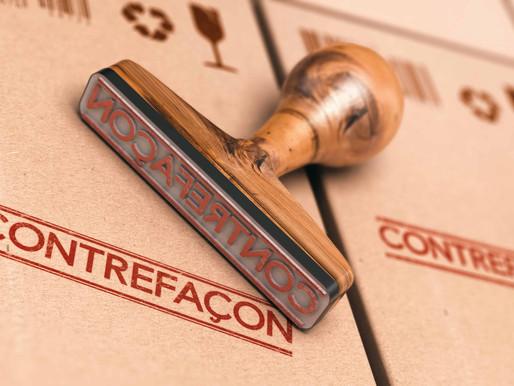 Réponse à ma question sur lutte contre la contrefaçon