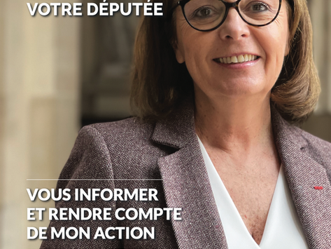 Le journal de la députée - mars 2021