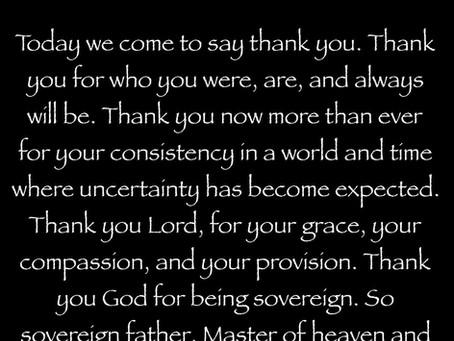Today's Prayer | Nov 3, 2020