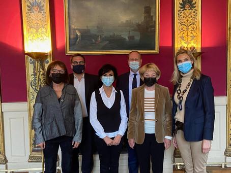 Réunion de préparation du Conseil de Paris