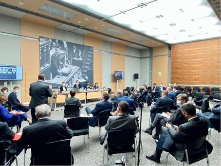 Réunion hebdomadaire avec mes collègues députés LR sur l'actualité législative