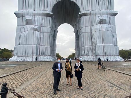 Arc de Triomphe, exposition #christo