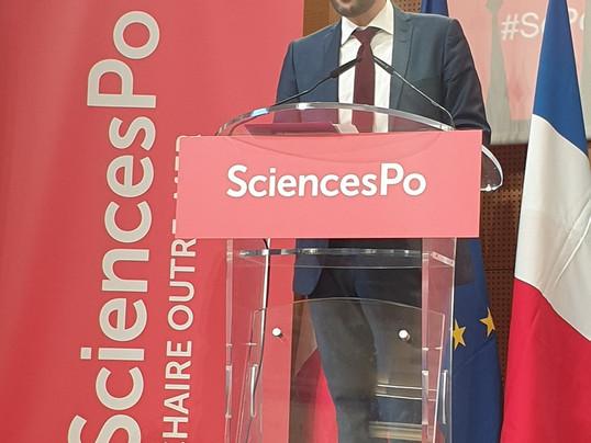 Sciences Po : inauguration de la chaire Outre-mer