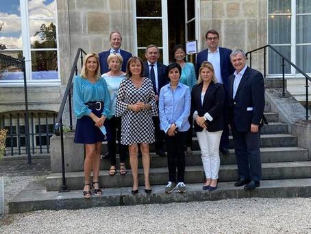 Réunion des maires et parlementaires LR parisiens