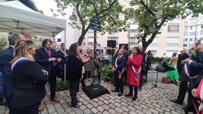 Inauguration de la place Claude Goasguen