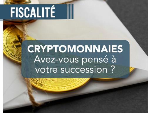 Cryptomonnaies : avez-vous pensé à votre succession ?