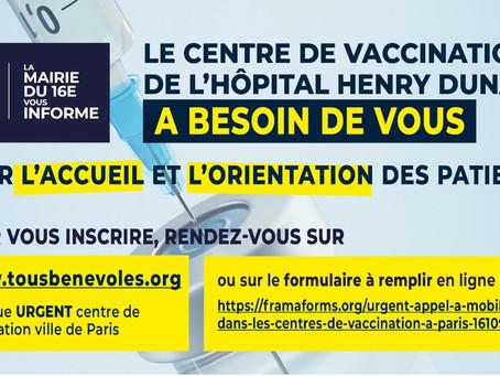 Campagne de vaccination de L'Hôpital Henry Dunant