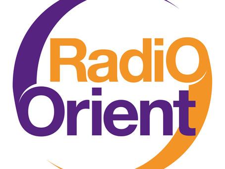Mon interview sur RADIO ORIENT