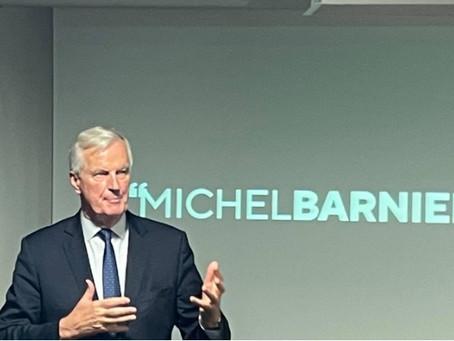 Rencontre avec Michel Barnier
