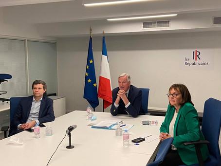 Michel Barnier et Les Républicains de Paris