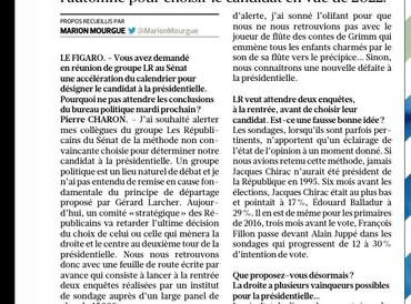 """Pierre Charon : """"Il faut accélérer le calendrier à droite"""""""